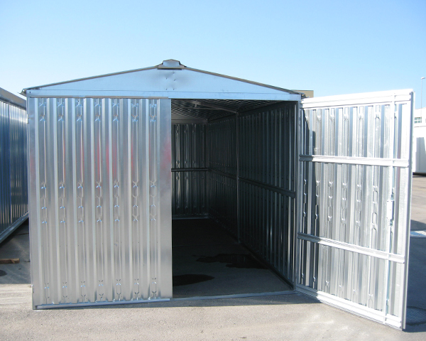 Box metallici e box in lamiera box box for 4 piani di box auto con abitazione